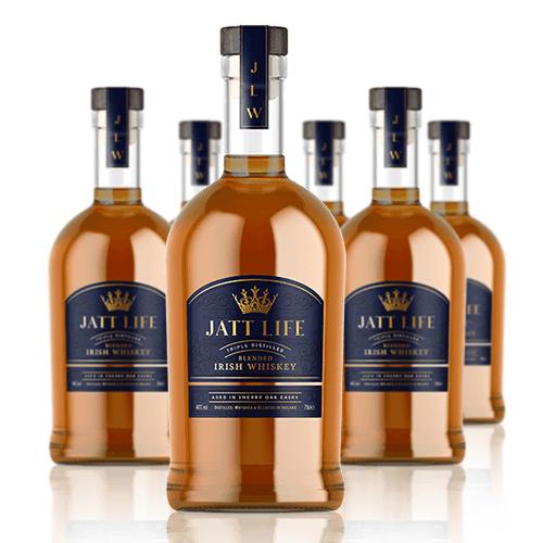 Jatt Life Vodka Bottles