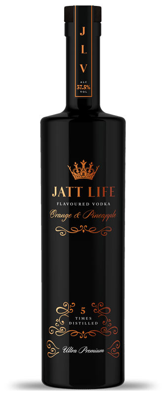 Jatt Life Vodka Bottle