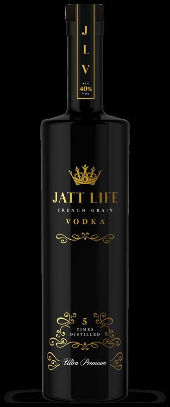 Jatt Life Vodka Bottle