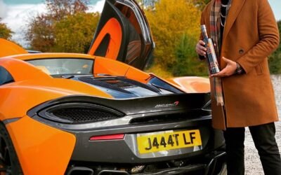 Orange and Pineapple Vodka launches with a Supercar!