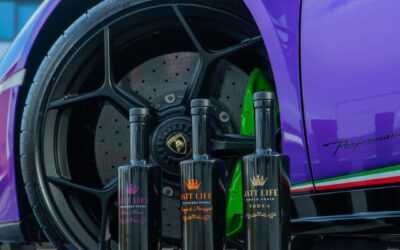 Jatt Life Forest Fruit Vodka gets a purple Lamborghini!