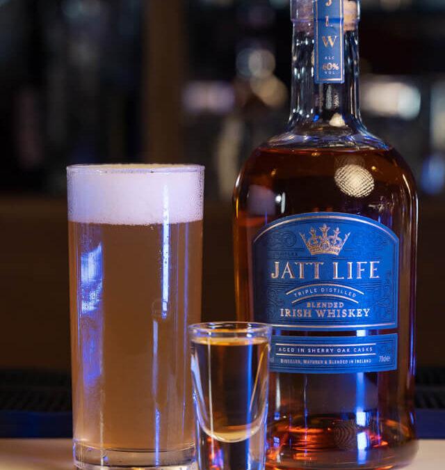 Jatt Boilermaker – Whiskey Cocktail
